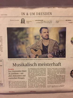 Acoustic Guitar Night 2018 - Germany tou