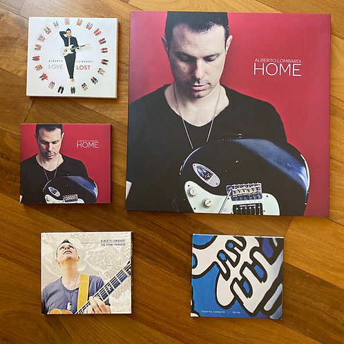 """All my records!  """"Home"""" Vinyl + 4 Cds"""