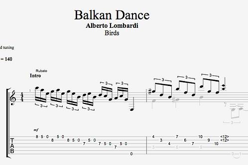 Balkan Dance | TAB + score