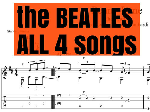 All My Beatles arrangements (5)