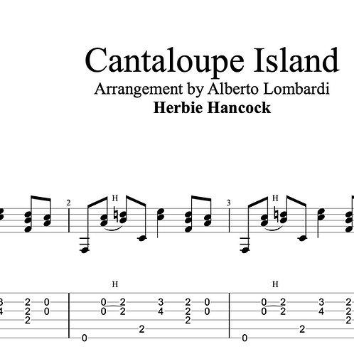Cantaloupe Island  | TAB + score