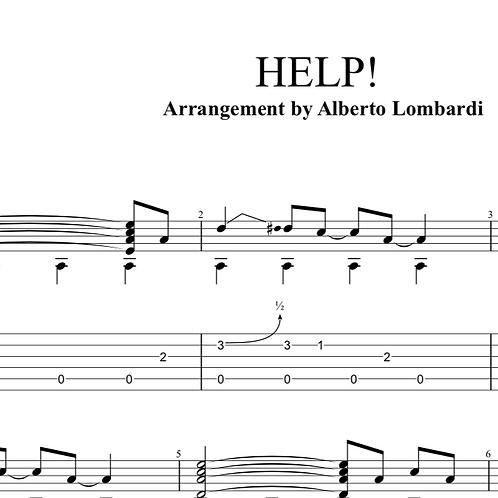 Help! | TAB + score