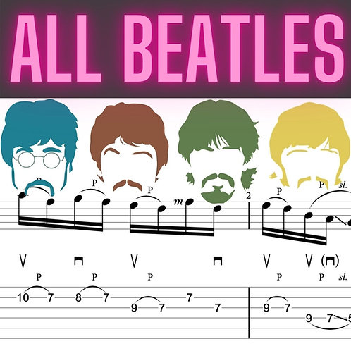 All My Beatles arrangements (6)