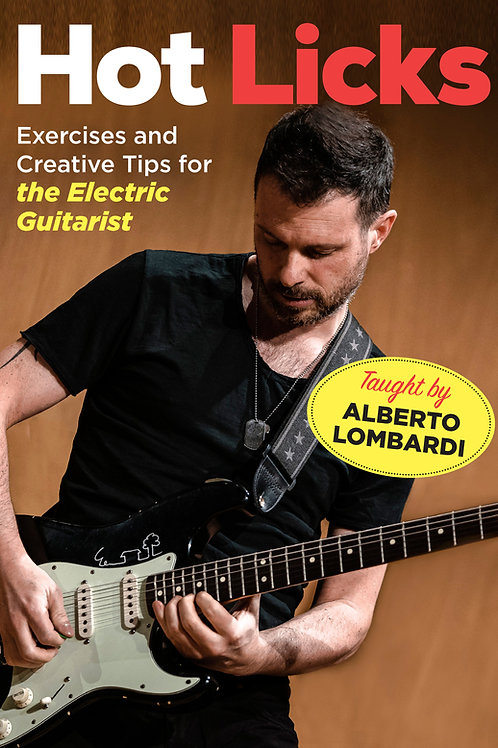 HOT LICKS exercises and tips electric // DVD video lesson