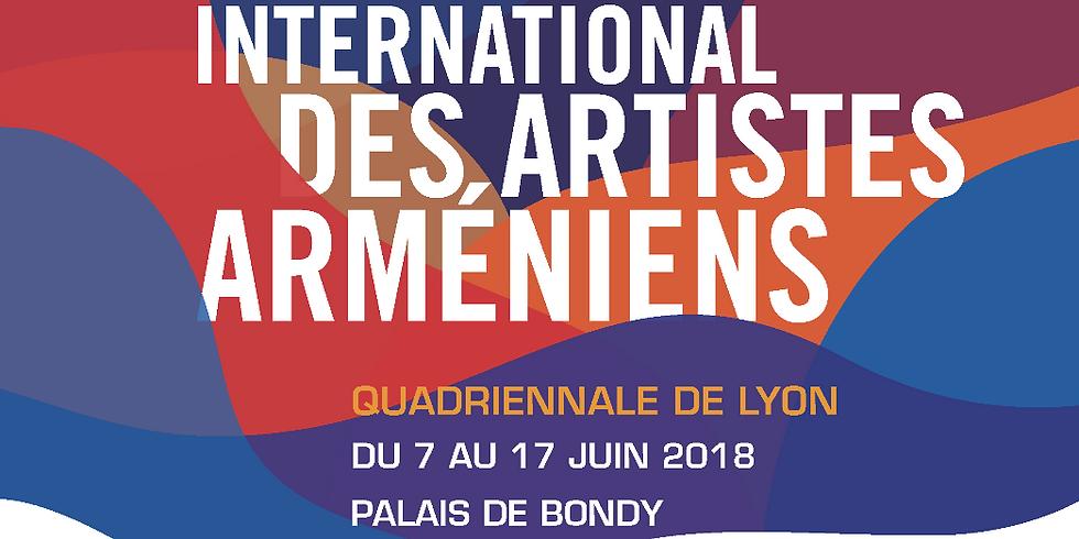Salon International des Artistes Arméniens, la Quadriennale de Lyon