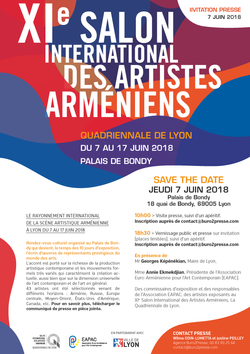 Salon Internl des Artistes Arméniens