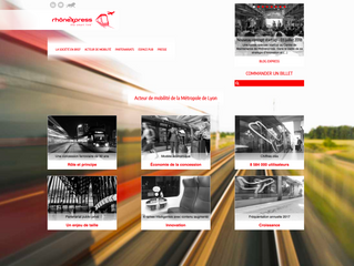 Buro2presse chargé du projet nouveau site web de la société concessionnaire Rhônexpress