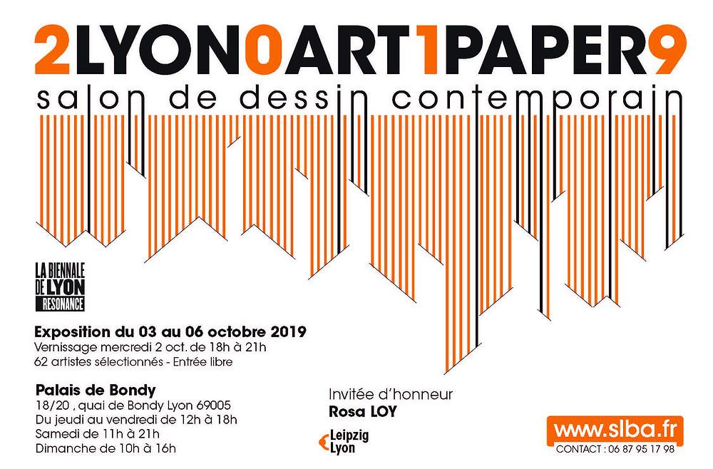 Visuel 2019 LYON ART PAPER