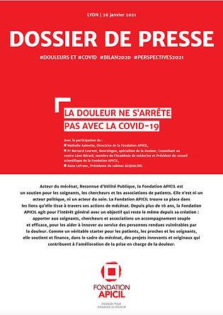 dossier de presse 2021 Fondation APICIL