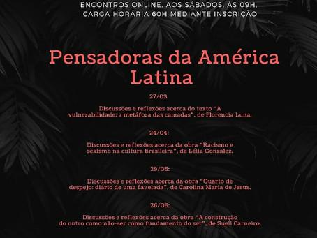 Filosofia em Perspectiva: Pensadoras da América Latina (grupo de estudos gratuito)