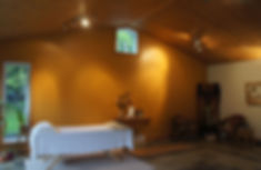 Salle de soins chez Catherine-Monique Ross