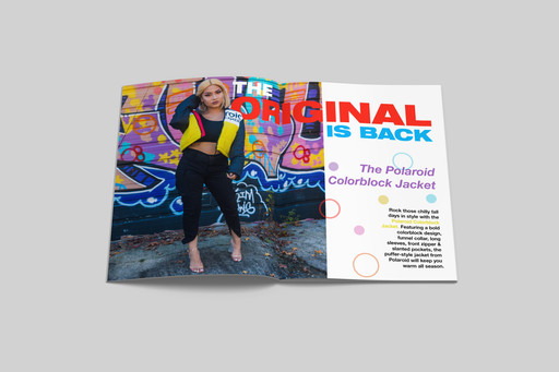 """Polaroid""- Magazine Ad"