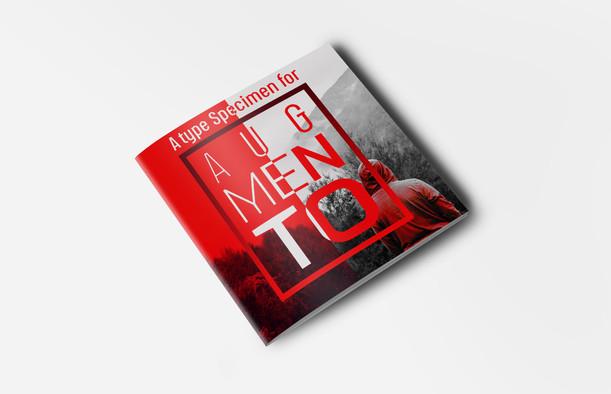 """""""Augmento"""" - Type Specimen Booklet"""