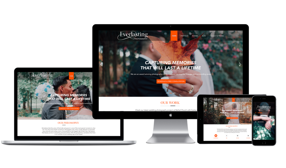 """Everlasting Wedding Photography"" Responsive Site"