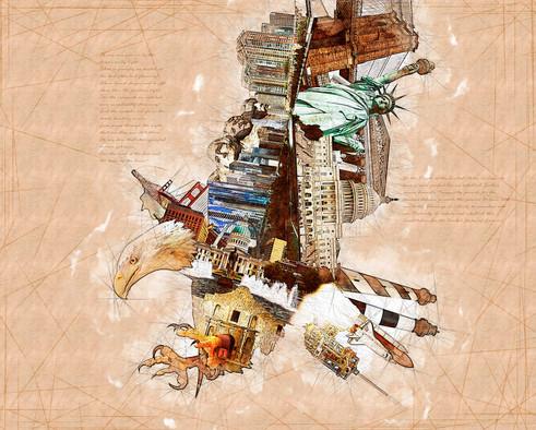 """Mechanical Eagle"" - Photo Manipulation"