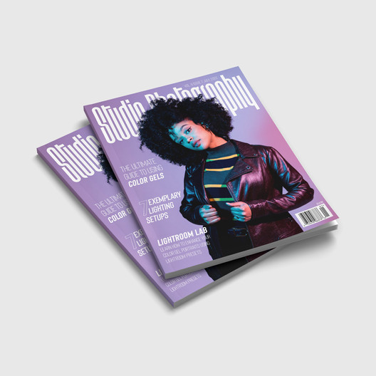 """""""Studio Photography"""" - Magazine Cover"""