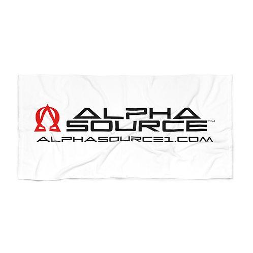 Alpha Source Beach Towel