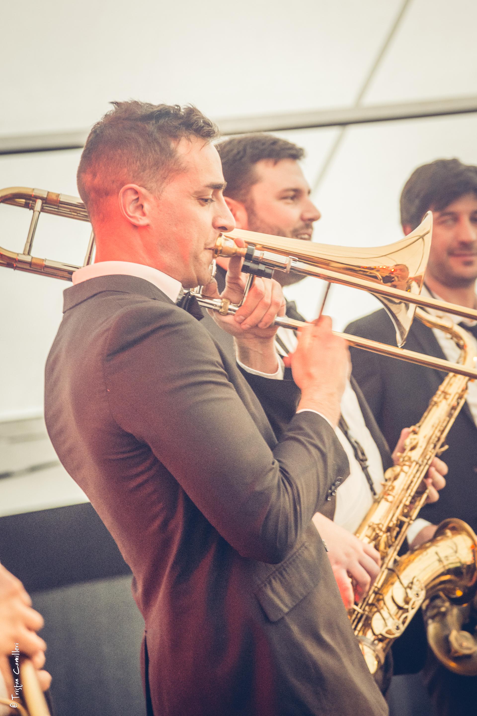 trombonne vintage Bee Swing Orchestr
