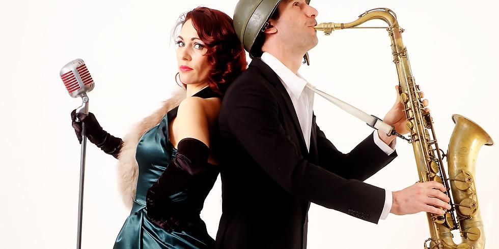 Swing show & CO - duo avec Sax - Moulin de Moissac