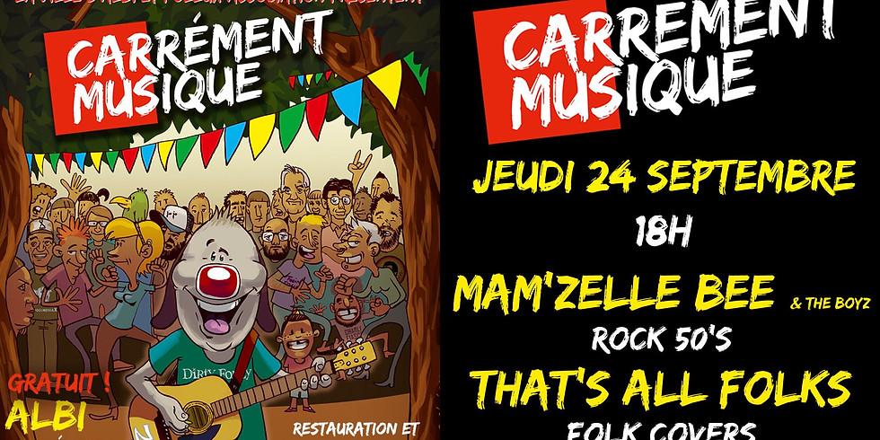 Bee & the Boyz au Carré Public - ALBI (81)