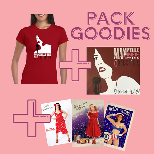PACK CD +T-SHIRT+ GOODIES