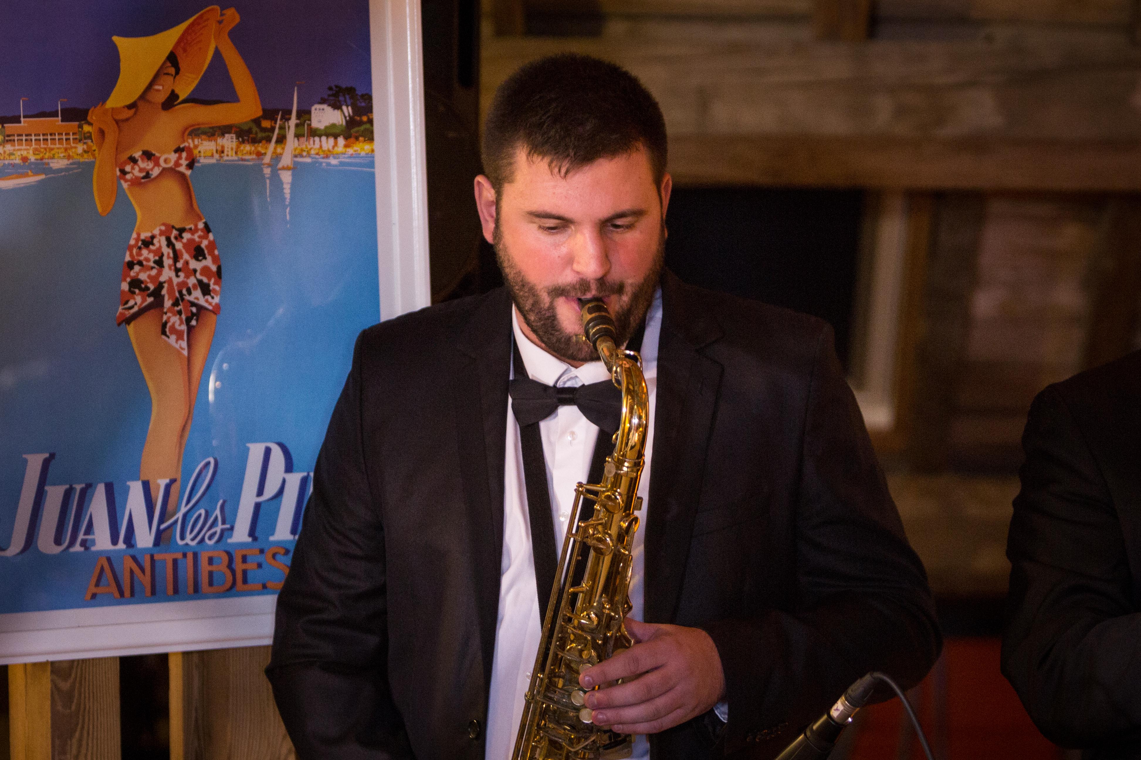 saxophoniste vintage