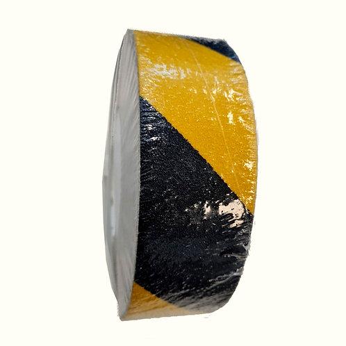 פס נגד החלקה שחור/צהוב גרעון 60 תחמוצת אלומיניום