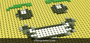 Creating LEGO Mosaics - All Of The Little Pieces