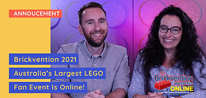 Brickvention 2021 - Australia's Largest LEGO FAN Event Is Going Online This Weekend!