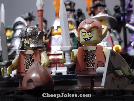 Dungeons and Dragons with LEGO: An Introduction To Table Top Role-Playing Games
