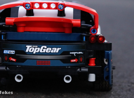 Review: LEGO 42109 Top Gear Rally Car