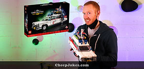 Brick Banter: Comedian Luke McGregor Builds The LEGO ECTO-1