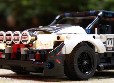 New Video! LEGO 42109 Top Gear Rally Car