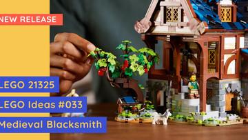 New Release: LEGO 21325 - LEGO Ideas Medieval Blacksmith