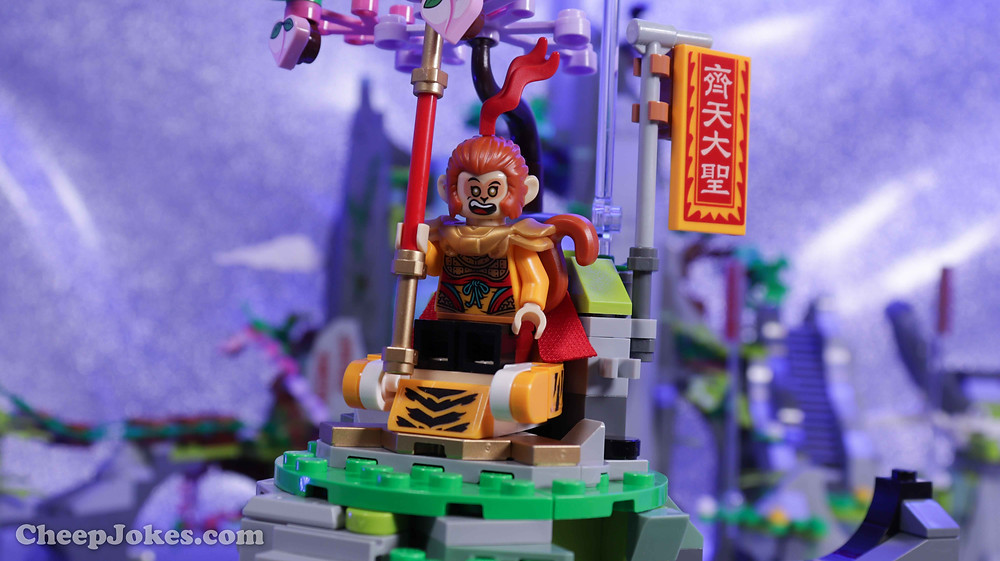 Children can bring the legend of the Monkey King to life as they build this detailed LEGO® Monkie Kid™ model of the iconic Flower Fruit Mountain (80024). Every section of the premium-quality toy playset tells a different story, from how he was born to how he became king of the monkeys, with features such as an opening rock to reveal the Monkey King and a buildable waterfall that opens to allow entry to the hidden mountain cave. There are 8 minifigures, including 4 different versions of Monkey King to play out specific legendary tales.