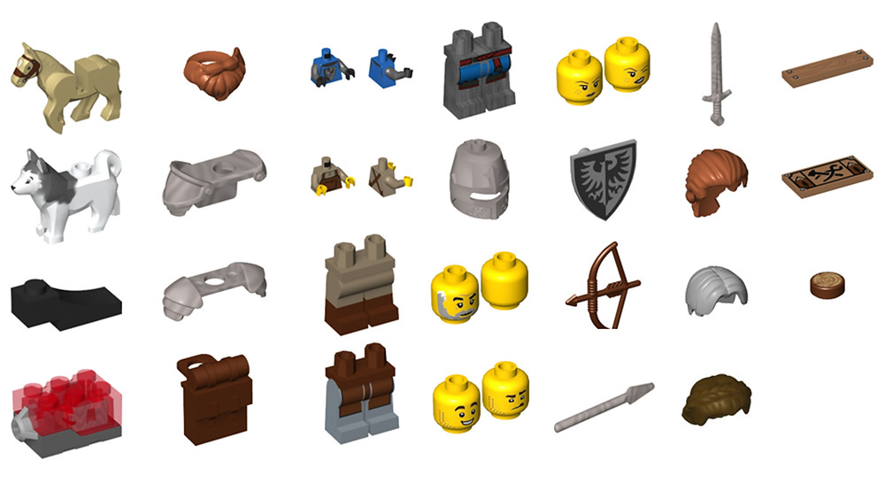 LEGO Bricks and Pieces Part List – February 2021