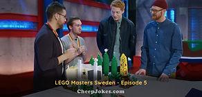 LEGO Masters Sweden - Episode 5 Recap - Supervillain Lair