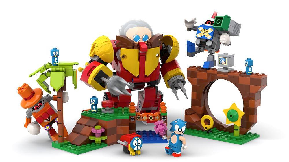 LEGO Ideas: Sonic The Hedgehog