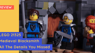 LEGO 21325 - Medieval Blacksmith - All The Details You Probably Missed