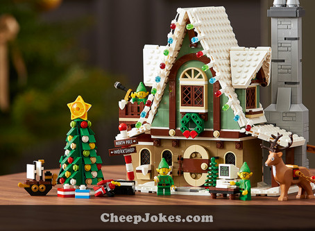 Brixen The Reindeer Is Joining LEGO For Christmas - LEGO 10275 - Elf Club House