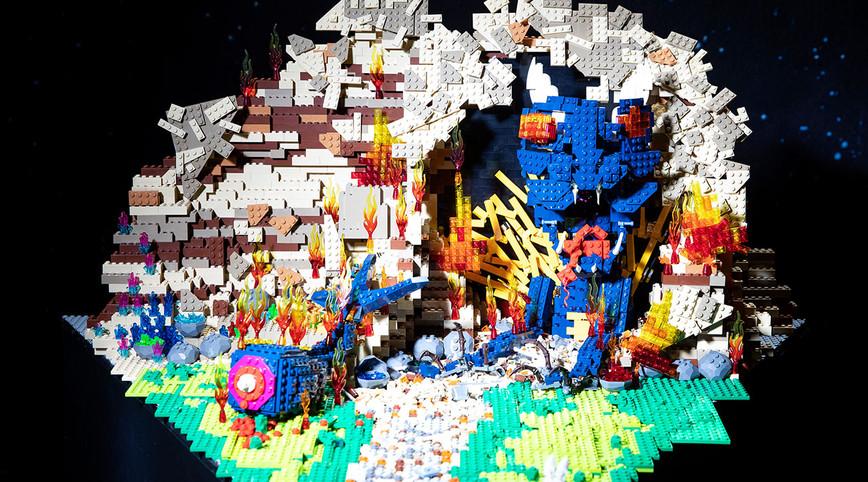 LEGO Masters Australia – Season 2 - Episode 2 – Hero Shot Challenge