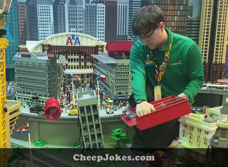 Designing The Big Stuff - We Chat To Matt Graham from LEGOLAND in Dallas