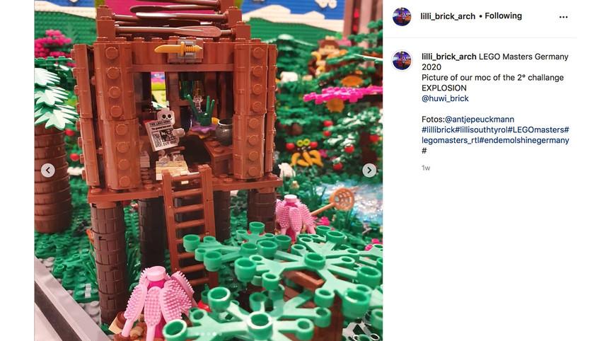 LEGO Masters Germany – Season 1 - Episode 3 – Cut In Half Challenge
