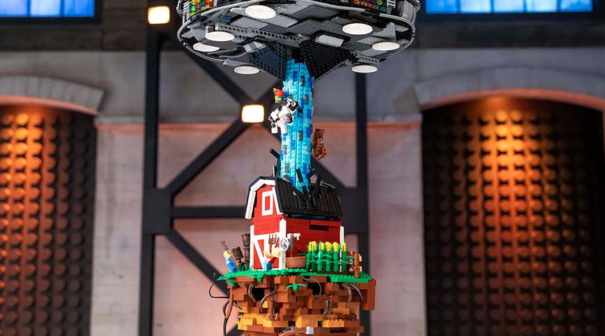 LEGO Masters Australia – Season 2 - Episode 4 – Hanging Brick Challenge
