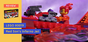 Review: LEGO 80019 Monkie Kid - Red Son's Inferno Jet