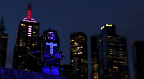 Huntress - LEGO 71026 DC Super Heroes