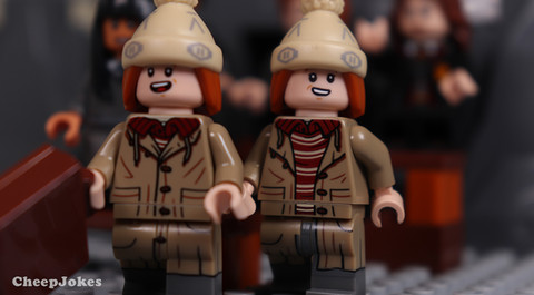George Weasley - LEGO CMF Harry Potter Series 2