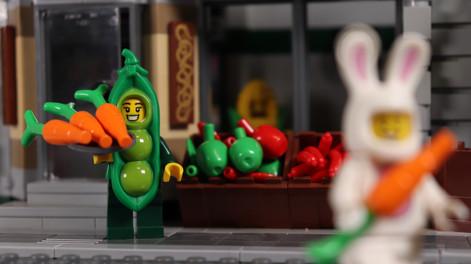Pea Pod Costume Girl