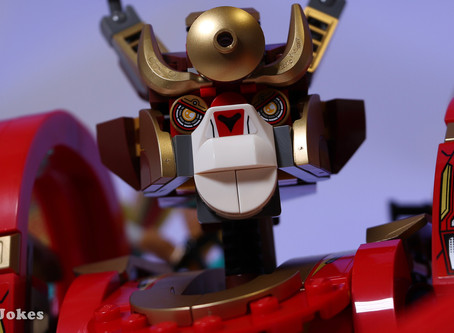 Review: LEGO 80012 Monkey King Warrior Mech
