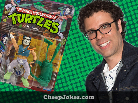 Retro Toy Review With Trent: Playmates TMNT Casey Jones from 1989
